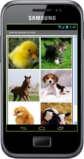Projet - Animal sounds for kids